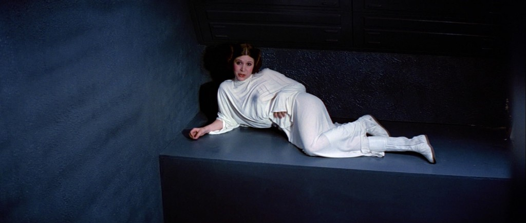 A New Hope - Leia in a cell on the Death Star