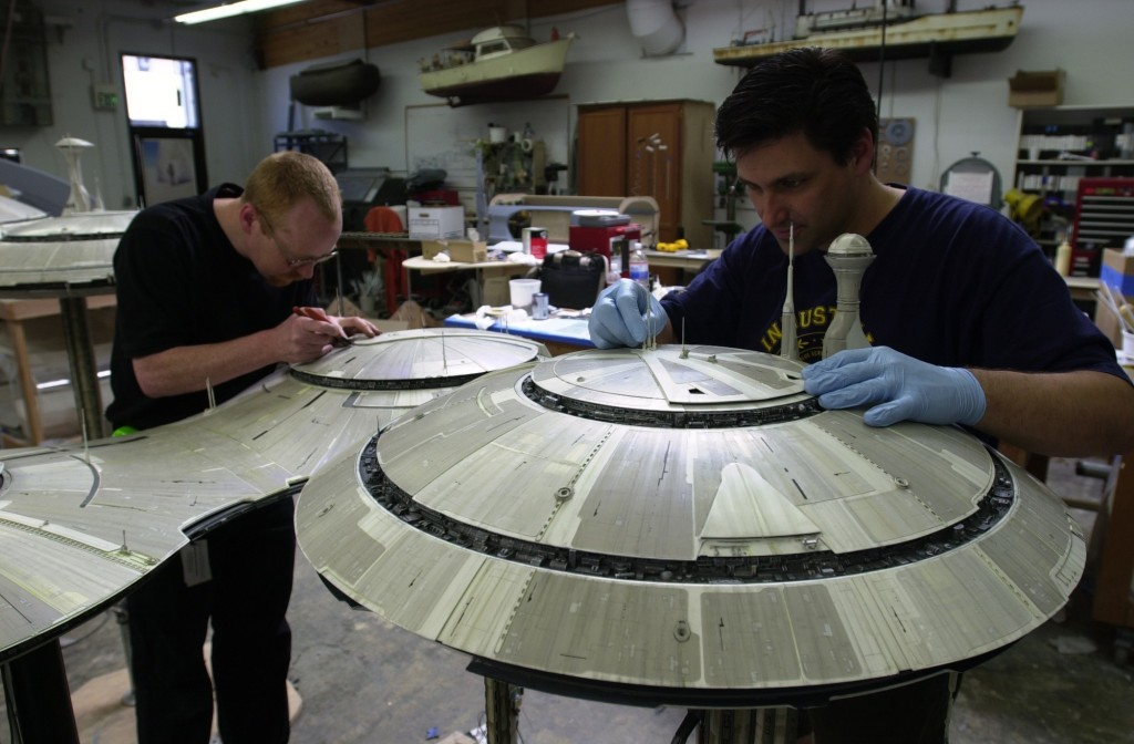 Attack of the Clones - Adam Savage working on the Kamino model