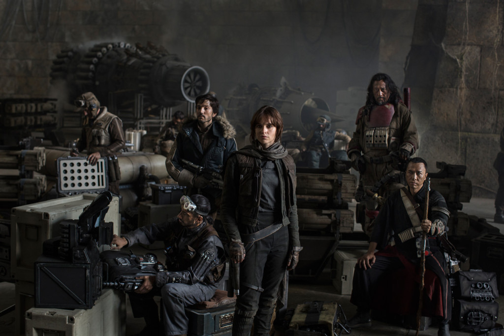 Rogue One: A Star Wars Story cast