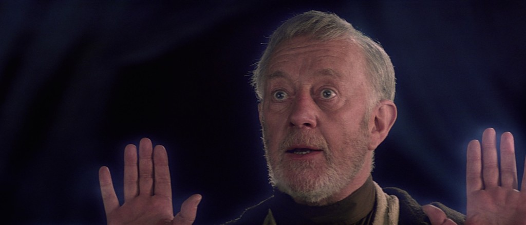 The Empire Strikes Back - Obi-wan as a Force Ghost