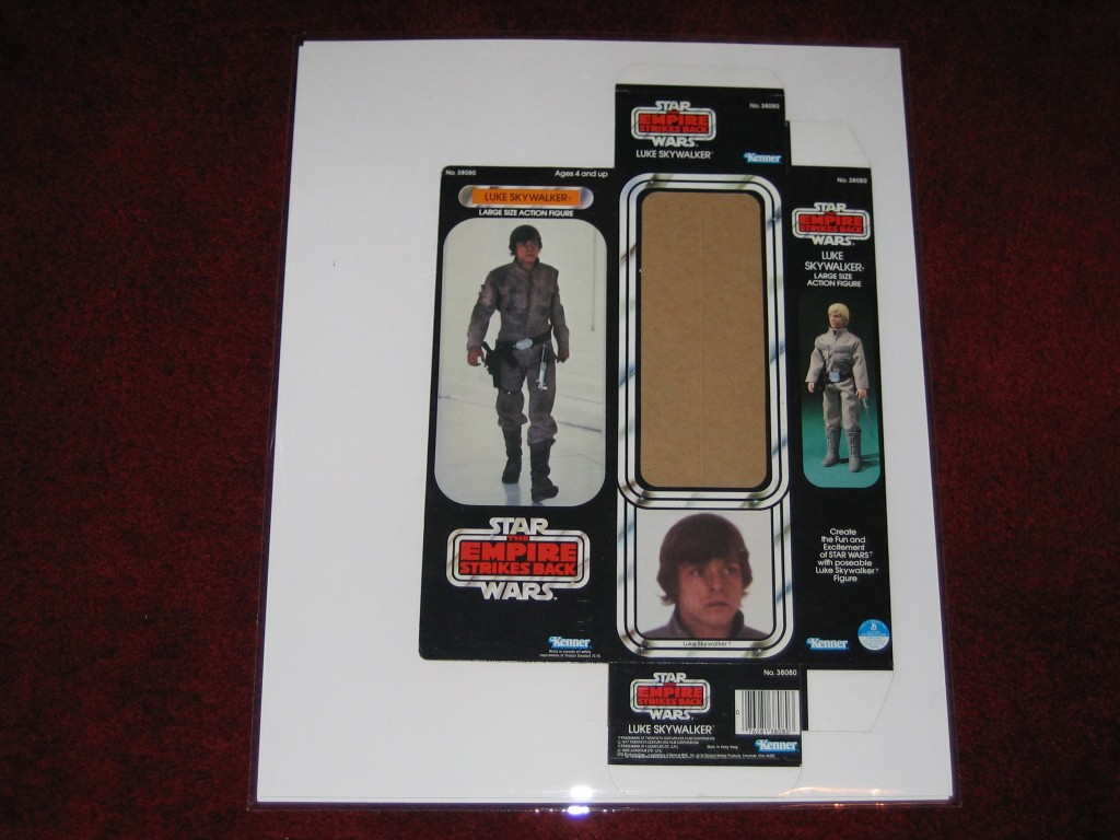 Kenner's Unreleased Large Size Action Figures - Luke Packaging