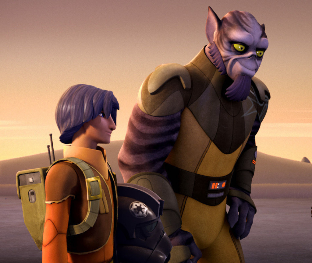 Star Wars Rebels - Ezra and Zeb