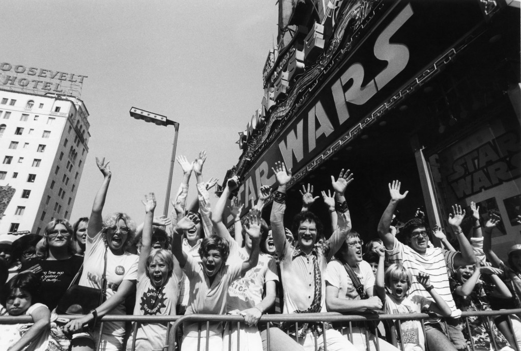 Star Wars in 1977 at the Chinese Theatre