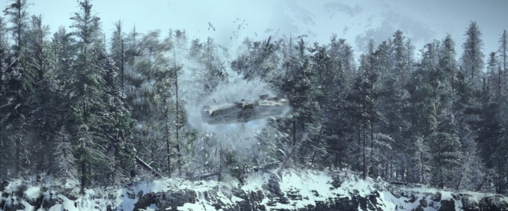 Star Wars: The Force Awakens - the Millennium Falcon