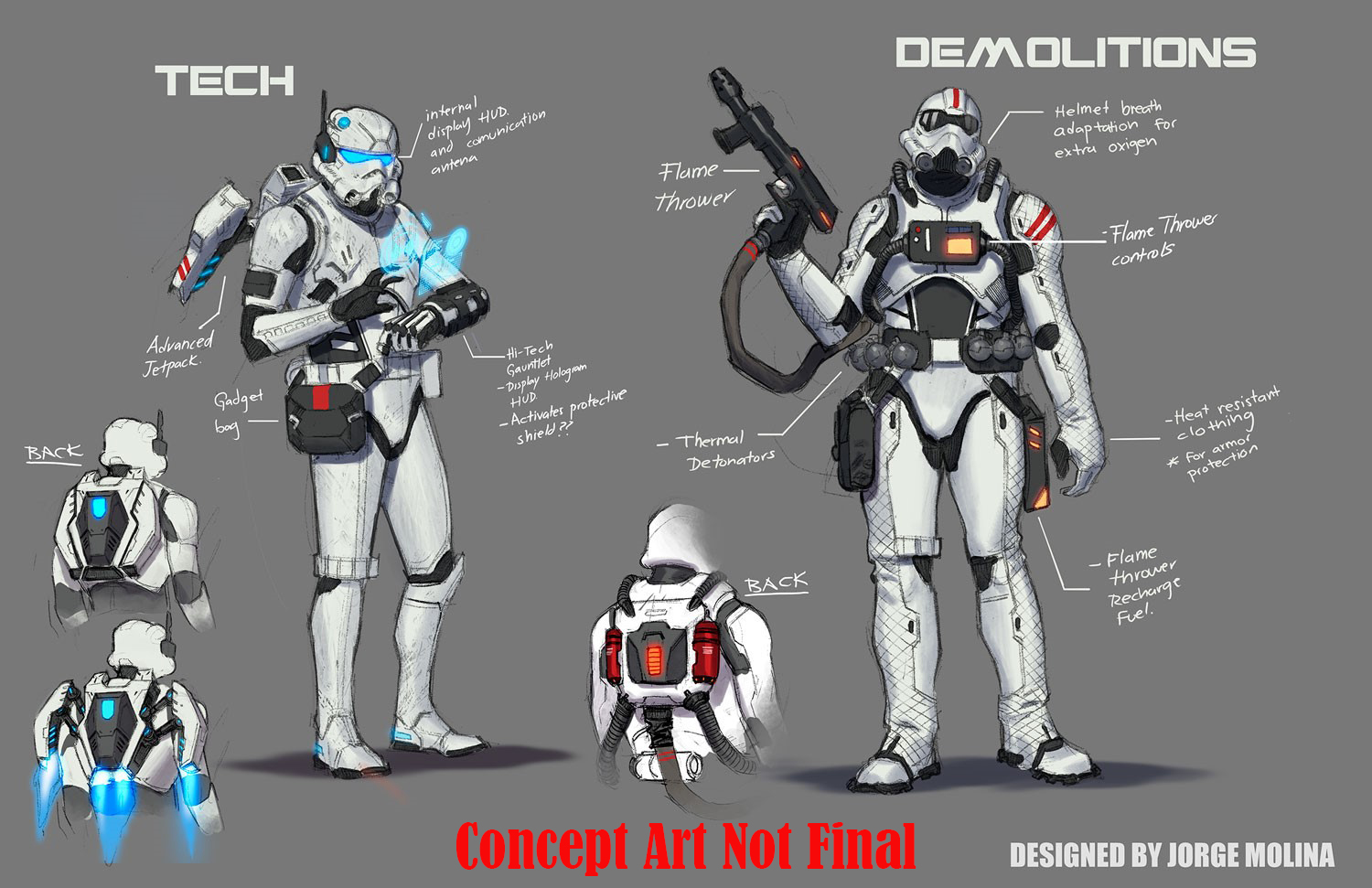 Elite stormtroopers are coming in star wars 21 for Elite design