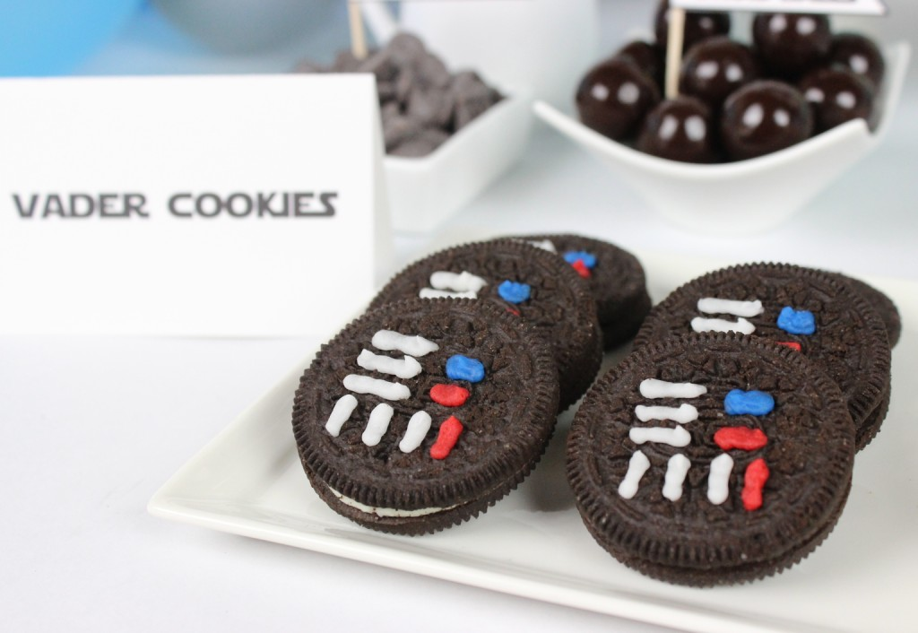 May The 4th Ice Cream Party - Vader Cookies