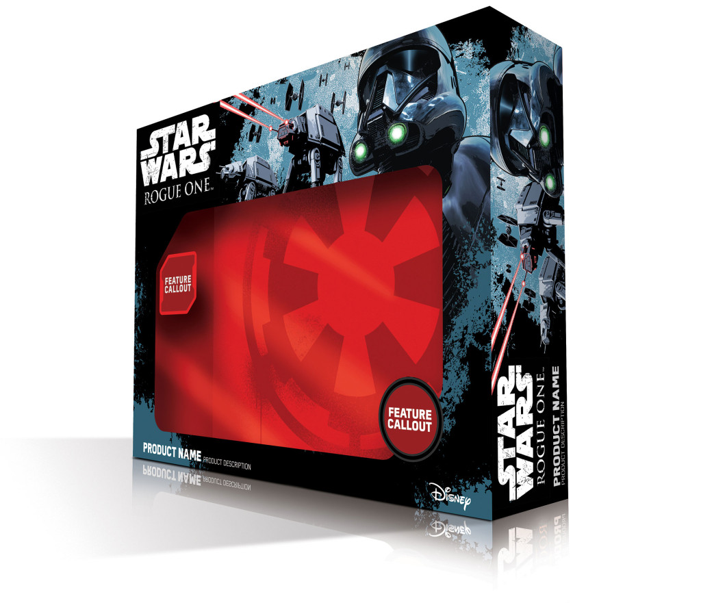 Rogue One: A Star Wars Story packaging
