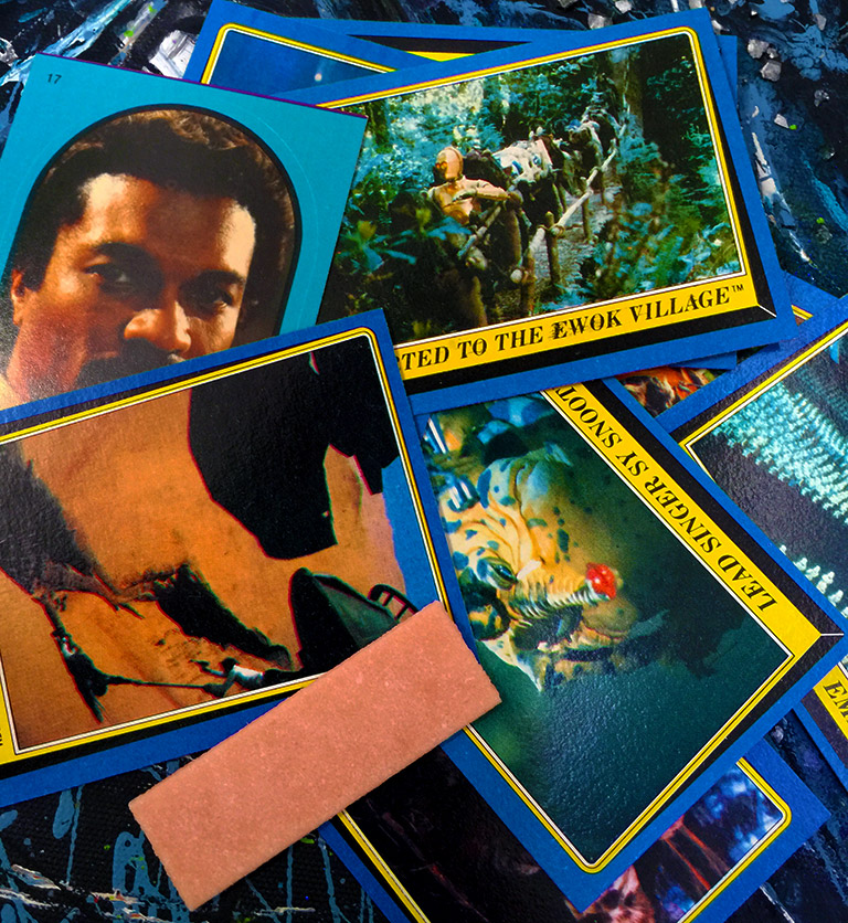 Return of the Jedi Assorted Vintage Trading Cards