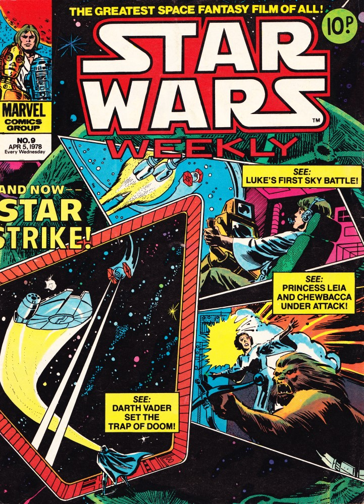 Star Wars Weekly #9 - Cover