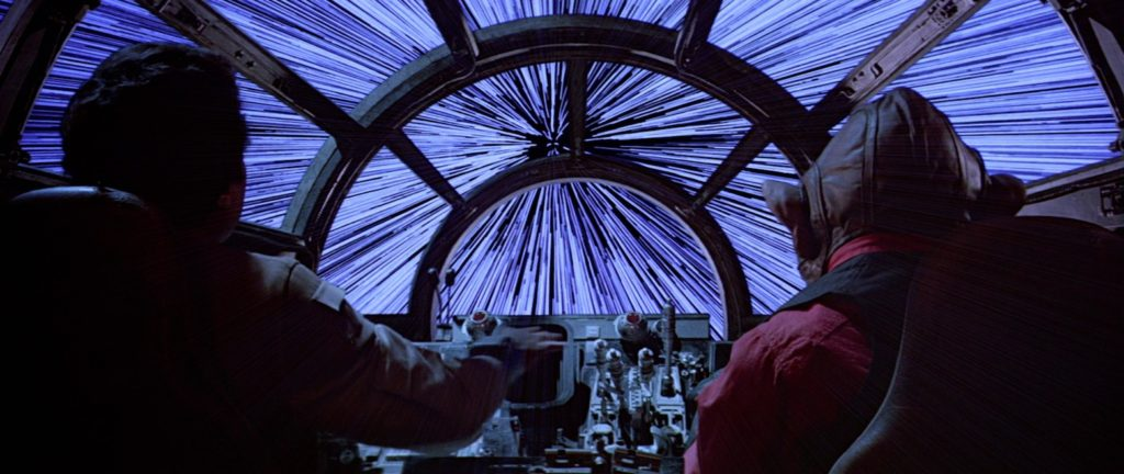 A New Hope - Lando and Nien Nunb in the Millennium Falcon