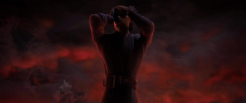 The Clone Wars - The Son gives Anakin a vision of the future