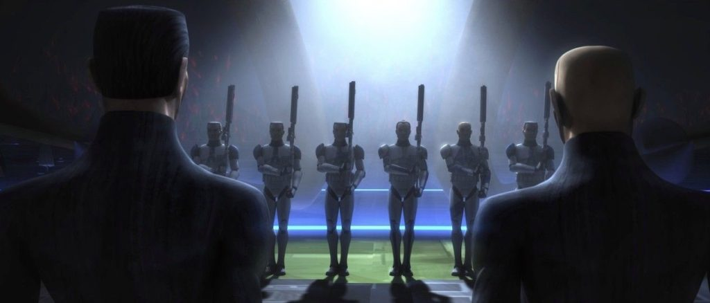 The Clone Wars - Jesse and Fives at the firing squad