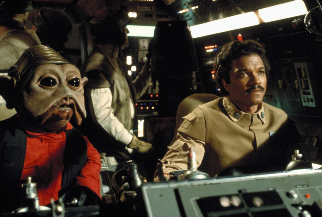 A New Hope - Nien Nunb and Lando in the Millennium Falcon