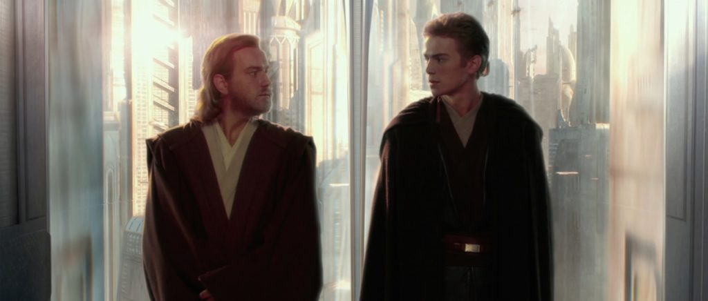 Attack of the Clones - Obi-Wan and Anakin