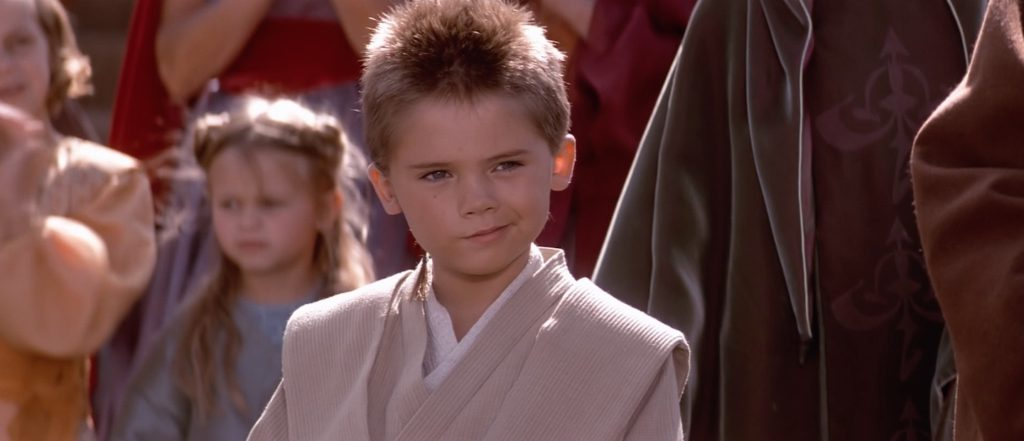 The Phantom Menace - Anakin as a padawan