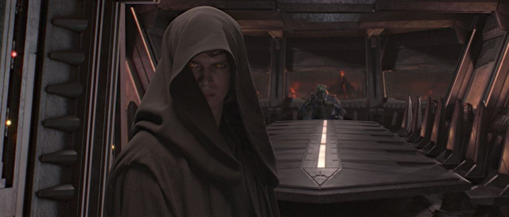 Revenge of the Sith - Anakin with Sith Eyes