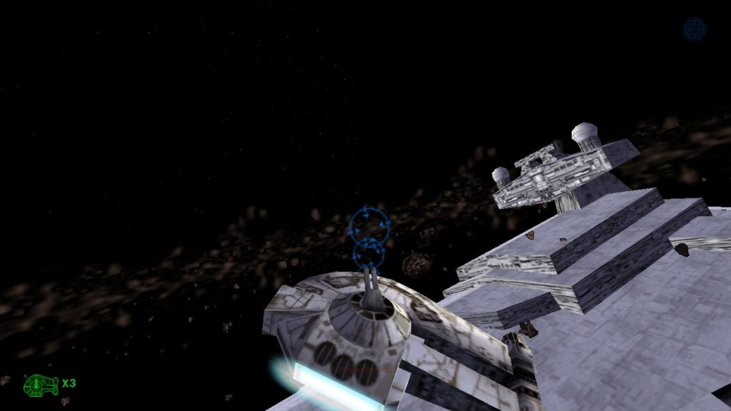 Shadows of the Empire - Starship battle