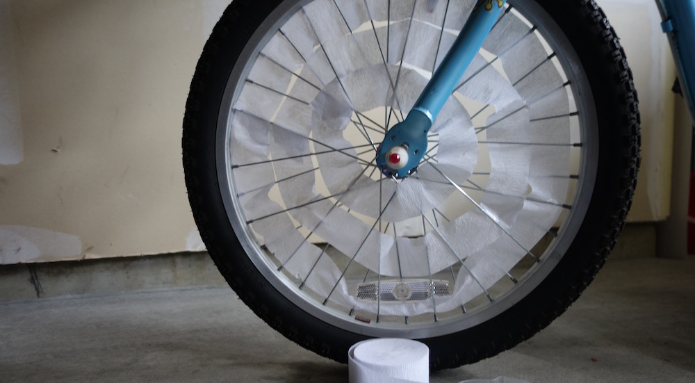 BB-8 Bike Spokes with Streamers