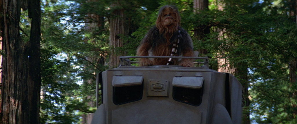 Star Wars: Return of the Jedi - Chewbacca and AT-ST