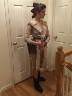 Rey Zoe Hinton cosplay