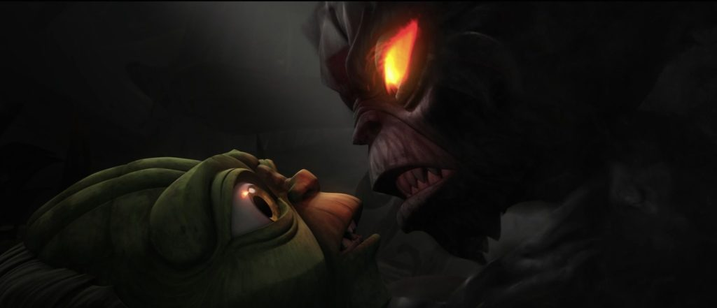 The Clone Wars - Yoda confronting his own darkness
