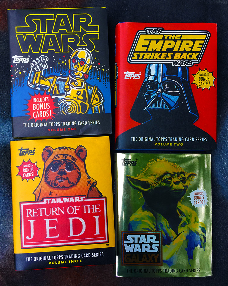 Star Wars Topps Trading Card Book Covers