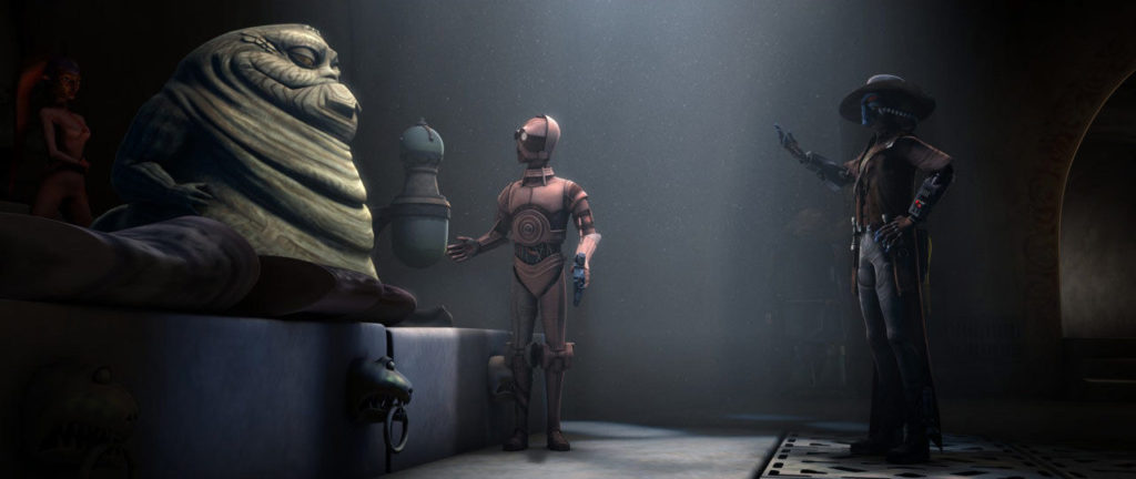 The Clone Wars - Jabba and Cad Bane