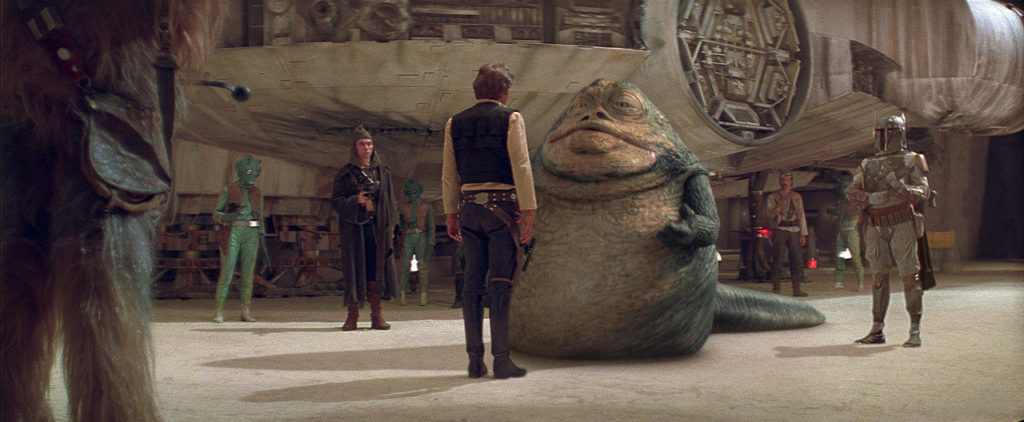 A New Hope - Jabba and Han Solo