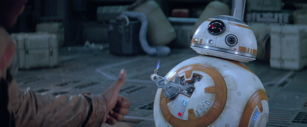 The Force Awakens - BB-8 thumbs up