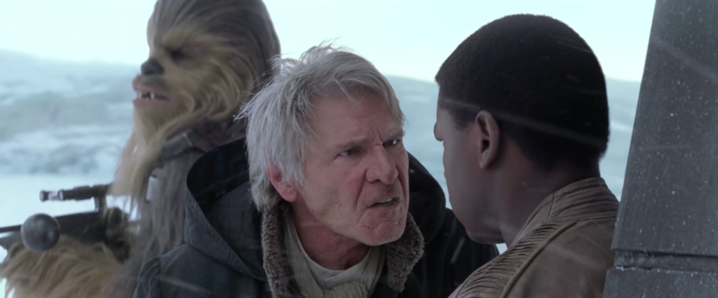 The Force Awakens - Han and Finn