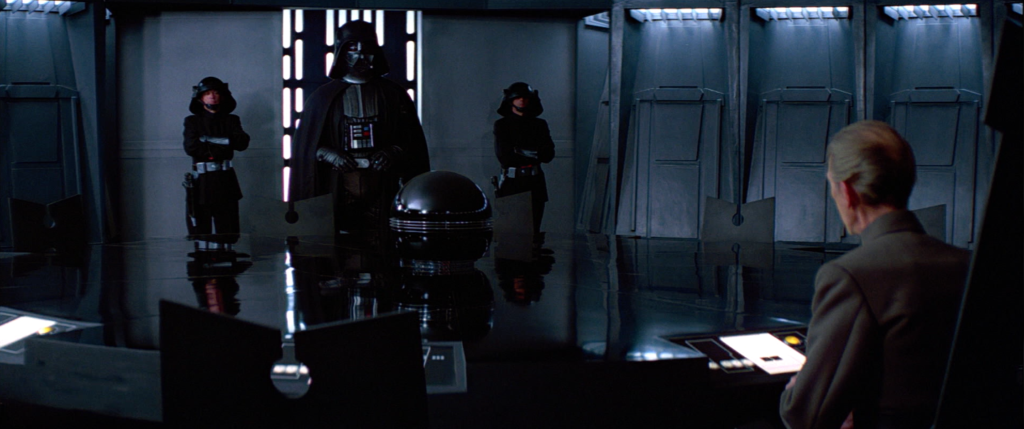 A New Hope - Darth Vader and Tarkin