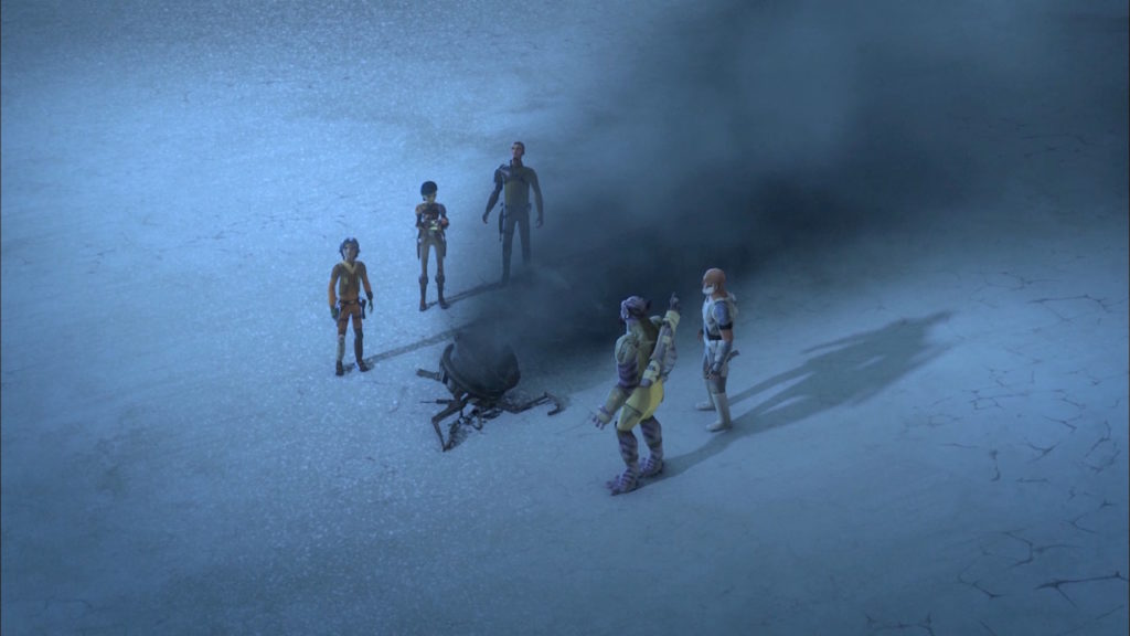 Rebels-and-probe-droid