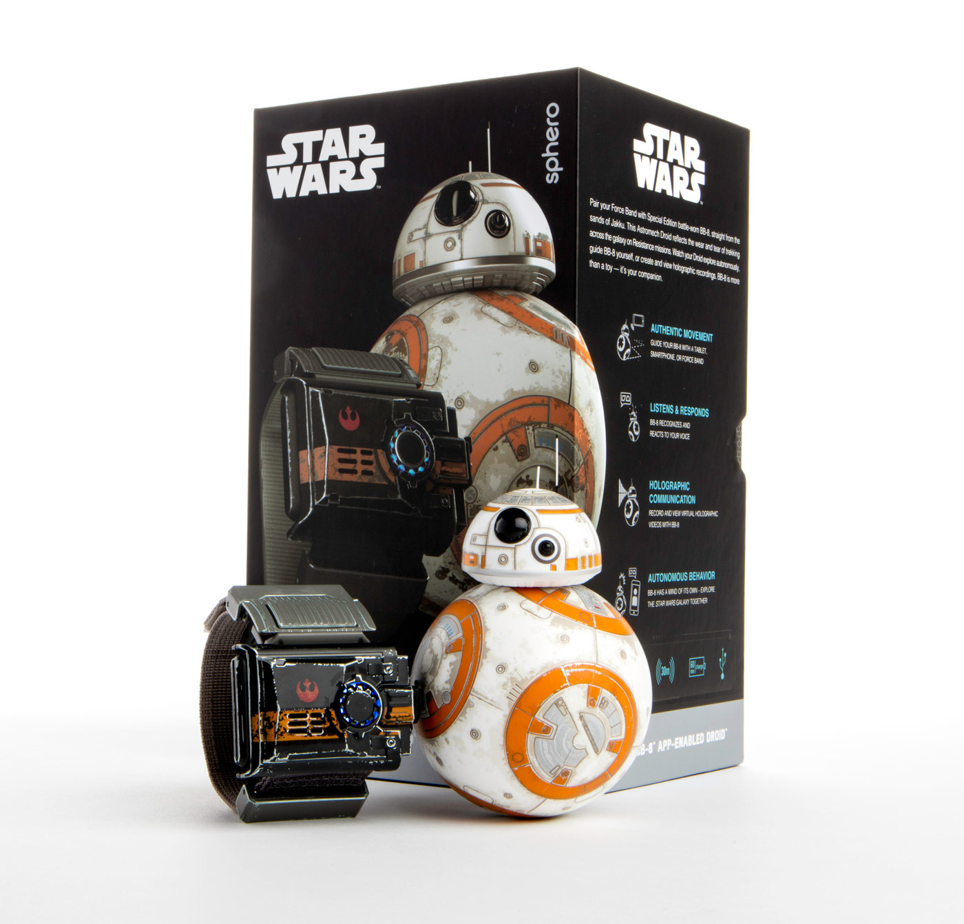 Go Rogue Pre-Order: Star Wars Force Band and Special Edition Battle-Worn BB-8 Droid Bundle