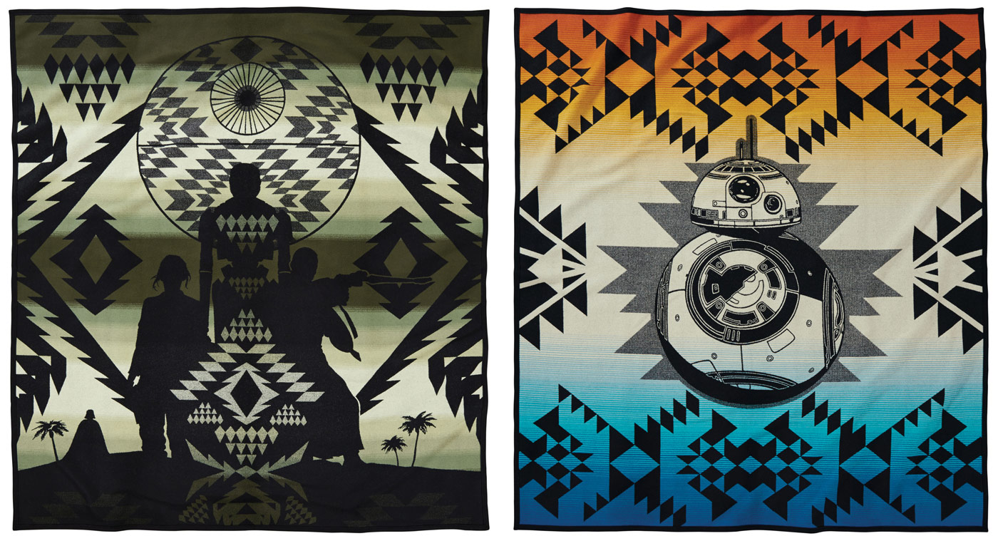Go Rogue Pre-Order: Pendleton Limited Edition Rogue One and BB-8 Blankets