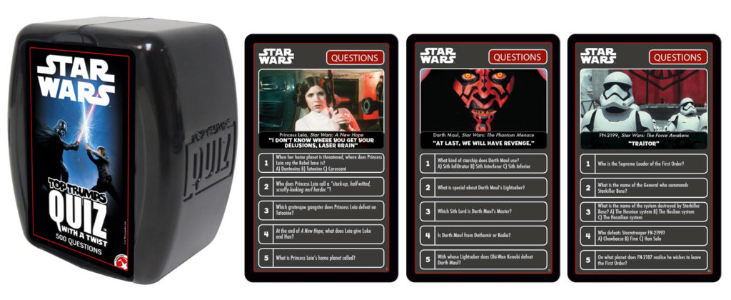 Star Wars Top Trumps