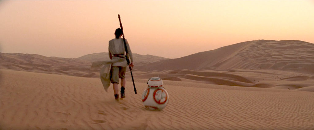 The Force Awakens - Rey and BB-8