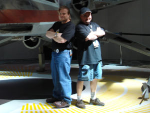The Canadians strike back: Paul Ens and Pablo Hidalgo.