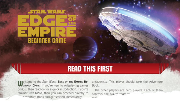 Star Wars Edge Of The Empire Beginner Enter Galaxy Rpgs Starwars