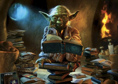 Yoda knows it is wise to read!