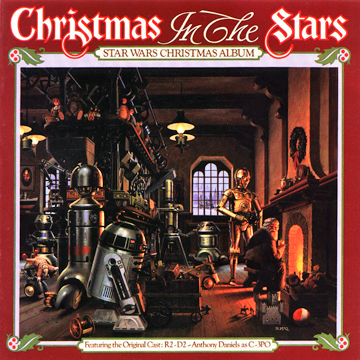 christmas in the stars 1980 lp cover - Starwars Christmas