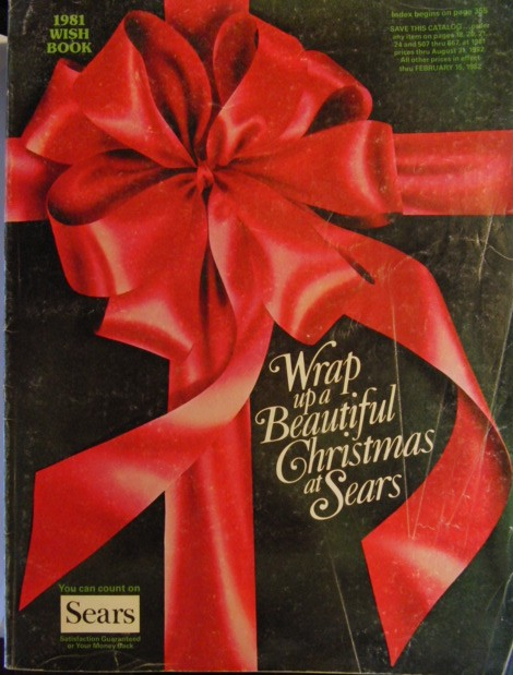 Christmas Catalogs.The Sears Wish Book And Star Wars Toys Real Value