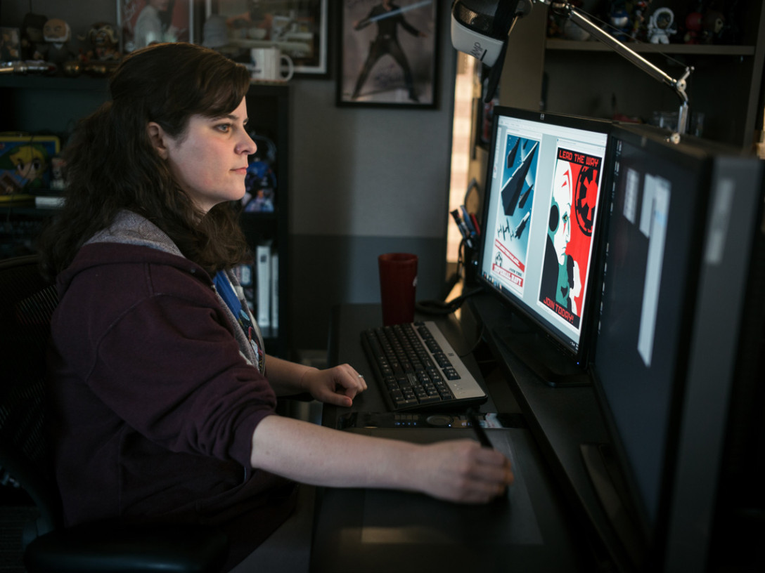 Amy Beth Christenson, Star Wars Rebels artist