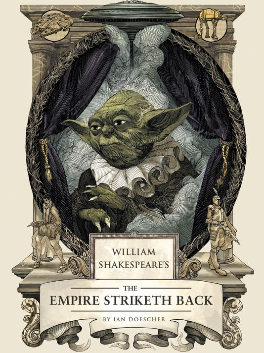 The Empire Striketh Back cover