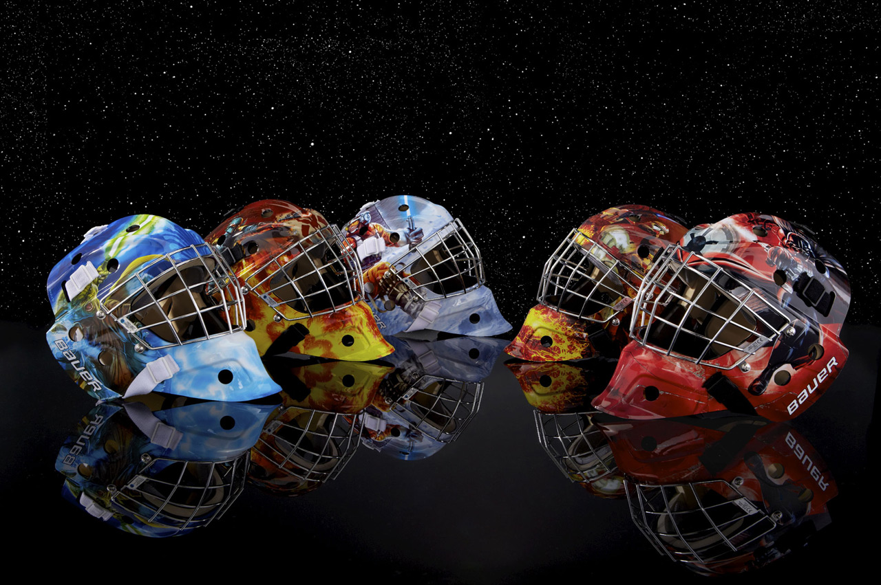 Bauer S Star Wars Goalie Masks Perfect For Hoth Worthy Hockey