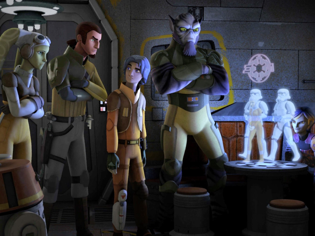 Star Wars Rebels - The Ghost crew