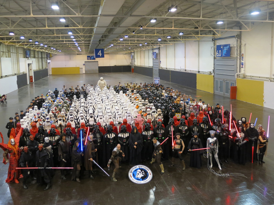 501st Legion at Celebration Europe