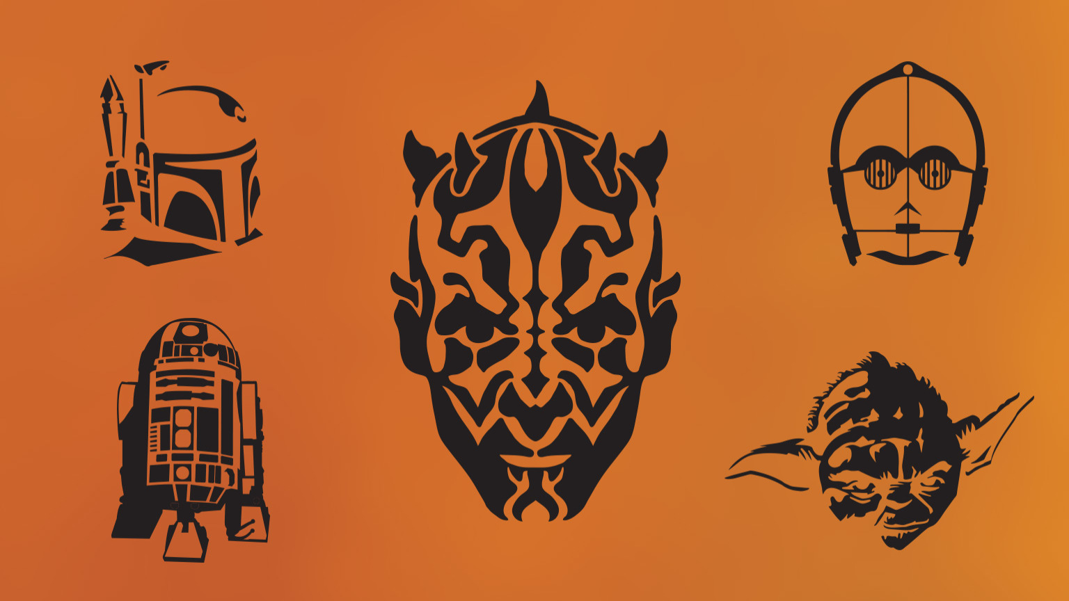 picture regarding Star Wars Pumpkin Stencils Printable known as Do it yourself Star Wars Pumpkin Stencils