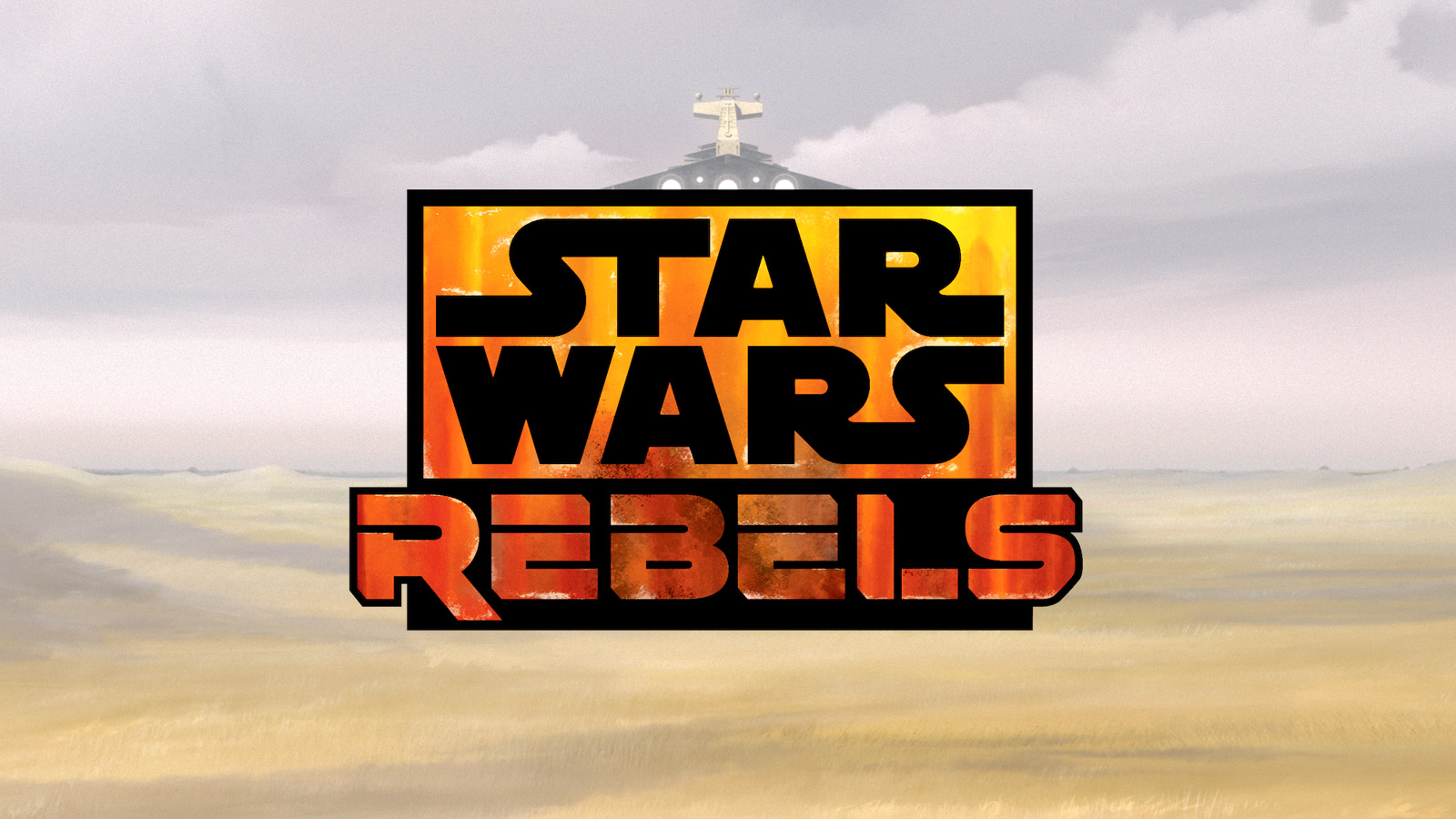 Star Wars Rebels Logo In Spark Of Rebellion