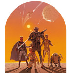 Star Wars Art: Posters - Ralph McQuarrie painting