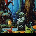 Star Wars Art: Posters - Yoda on Dagobah